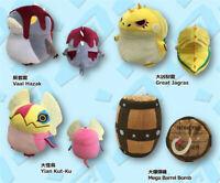 Monster Hunter: World 14cm Plush Doll Great Jagras Vaal Hazak Yian Kut-ku Toys