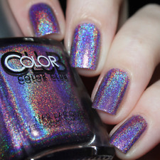 Color Club Nail Lacquer Halo Hues Eternal Beauty 999 15ml | Halo-graphic Purple