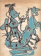 BRAQUE Georges, G. Braque. Das Graphische gesamtwerk 1907-1955