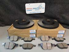 Genuine Mazda 3, Rotors and Brake Pads (C24Y-33-25XD)(B3YH-33-28ZAMV)