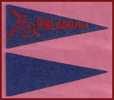 OLD 1950 Philadelphia Phillies Baseball Pennant! WOW