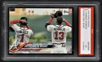 2018 Ronald Acuna Jr. & Ozzie Albies Topps Update Rookie 1st Graded 10 Braves RC