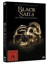 BLACK SAILS DIE KOMPLETTE DVD STAFFEL SEASON 4 DEUTSCH