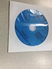 2018 Ford Taurus Police Interceptor Service Shop Repair Workshop Manual CD NEW