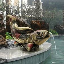 ©Showa Asian Koi Piped Spitter Design Toscano Exclusive Hand Painted Statue