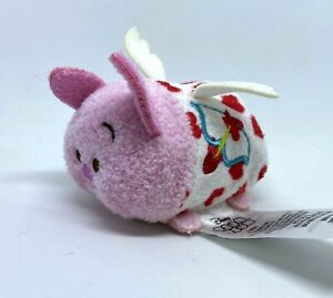 "Disney Tsum Tsum Target Mini Plush 3.5"" Piglet Cupid Valentine 💕 US SELLER"