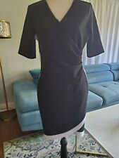 Almost Famous Dress Stretchy Black White Xlarge Euc!