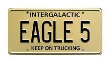 Spaceballs | Mel Brooks | Winnebago | EAGLE 5 | Metal Stamped Prop License Plate