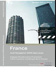 CD-ROM système de navigation GPS MMI basic plus France 2013-2014 Audi CD ROM