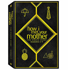 How I Met Your Mother The Whole Story Complete Series 28-Disc DVD Gift Box Set