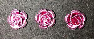 15mm Aluminum (300 PER LOT)  Rose Flower Beads  SPACER DIY NECKLACE