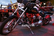 RED Flexible LED Motorcycle Lighting Kit 54 LED!
