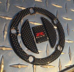 GSX-R 1000 Real Carbon Fuel Cap Pad K3+ GSXR K5 K6 K7 K8 K9 L0 L1 L2 L3 L4 L5 L6