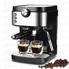 20 Bar Coffee Machine w/ Milk Frother Wand Espresso Cappuccino Latte Mocha Maker photo