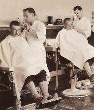 RPPC Regimental Barber Shop 8 haircuts in action P19