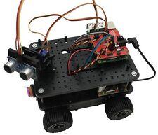 Ultimate 4tronix initio 4WD Robot Kit Scratch GPIO WITH Raspberry Pi 3 Model B