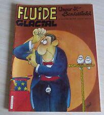 BD BANDE DESSINEE MENSUEL FLUIDE GLACIAL N° 124 EO OCTOBRE 1986