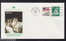 A 41) estados unidos Germany rare 2 State cover Space, largest payload aboard spacelab 2