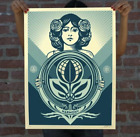 New Obey Protect Biodiversity-Cultivate Harmony Signed Numbered Print In Hand