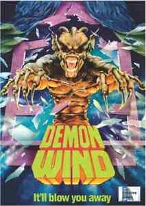 Demon Wind - 1990 Horror - Eric Larson, Francine Lapensée, Rufus Norris - DVD