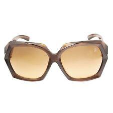 SWAROVSKI Be My Lady SW1 48F Women's Sunglasses - Amber Brown