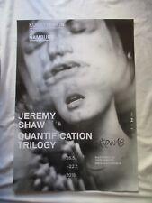 JEREMY SHAW original VINTAGE poster SIGNED Autogramm PLAKAT signiert HAMBURG