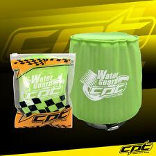 Water Guard Cold Air Intake Pre-Filter Cone Filter Cover for Honda Medium Green