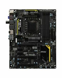 MSI Z77 MPOWER MS-7751 Ver.4.1 Intel Z77 Mainboard ATX Sockel 1155   #37661