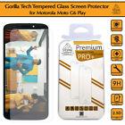 Gorilla Tempered Glass Screen Protector Shield Cover for Motorola Moto G6 Play