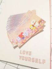 [LIMITED] LINE FRIENDS Official BT21 Sticker For BTS LOVE YOURSELF WORLD TOUR