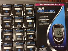 600 TRUE Metrix Blood Glucose Test Strips Plus FREEE Meter Exp 08/2018 OR LATER