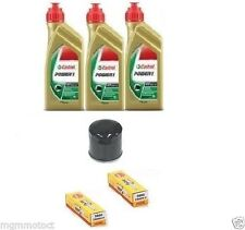 MGM REPLACEMENT KIT HONDA FJS 400 600 SILVER WING OIL CASTROL OIL FILTER CANDLES