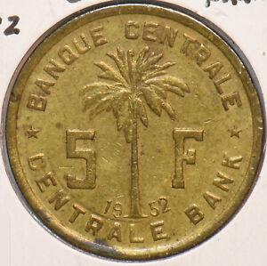 Belgian Congo 1952 5 Francs 195226 combine shipping