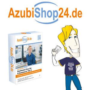 Lernkarten Kaufmann /-frau für E-Commerce Teil 2 AzubiShop24 Prüfung