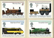 (705) VERY GOOD CLEAN USED 1975 RAILWAYS P.H.Q. SET 12. FDC