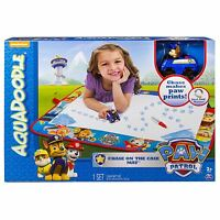 Tomy Aquadoodle Paw Patrol Craft Mat & Pen Chase Kids Childrens Gift Toy, E72523