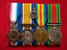 1914-15 Star Medal Group 2426 Swaby Sherwood Rangers Yeomanry Hussars Gallipoli