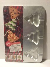 Wilton Christmas Tree Cookie Pan 2105-8101 Holiday Treat New Candy Sealed Xmas
