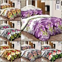 Elegance100% Egyptian Cotton Printed Duvet Cover Sets/Quilt Cover Sets ALL SIZES
