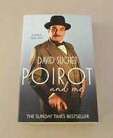 David Suchet Signed Book Autograph Poirot & Me Paperback Autobiography + COA