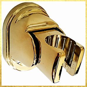 Shower  Head Holder Wall Bracket GOLD  adjustable angle hidden fixings  UK STOCK
