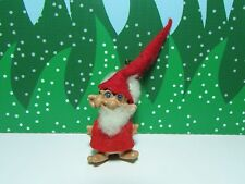 "1966 SANTA PENCIL TOP/TOPPER - 2"" Reisler Troll Doll - EXCELLENT"