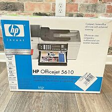 HP Officejet 5610 All In One Printer Copy Fax Scanner Copier OEM Contents No Ink