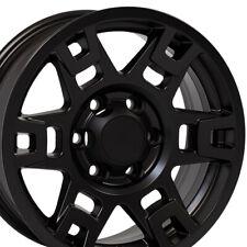 17 Rims Fits Toyota Trucks 4runner H Spoke Trd Matte Black Wheel 75167 Set Fits 2004 Toyota Tundra