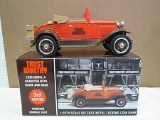 "TRUSTWORTHY 1930 MODEL ""A"" ROADSTER with Trunk and Rack #3 in series"