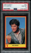 1984 Fleer V The Series PSA 10 #62 Kyle Bates Enemy Visitors 80s Jeff Yagher