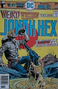 Weird Western Tales Presents Jonah Hex 34 Comic.Death Of A Bounty Hunter+