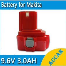 Battery For Makita 9.6V Pod 3.0Ah Ni-MH HeavyDuty 9122 6200 6222 6703 6704 6791