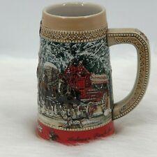 1987 Budweiser Collector C Series Stein Anheuser-Busch Beer Mug Cup, Clydesdales