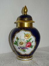 Große Deckeldose Vase Schumann  Arzberg Echt Cobalt Inglasur